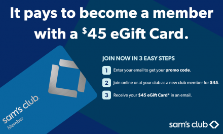 Get $45 Back When You Become a Sam's Club Member for $45 Today